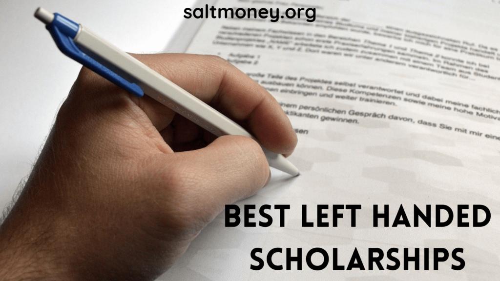 Left Handed Scholarships