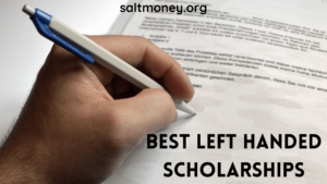 Left Handed Scholarships