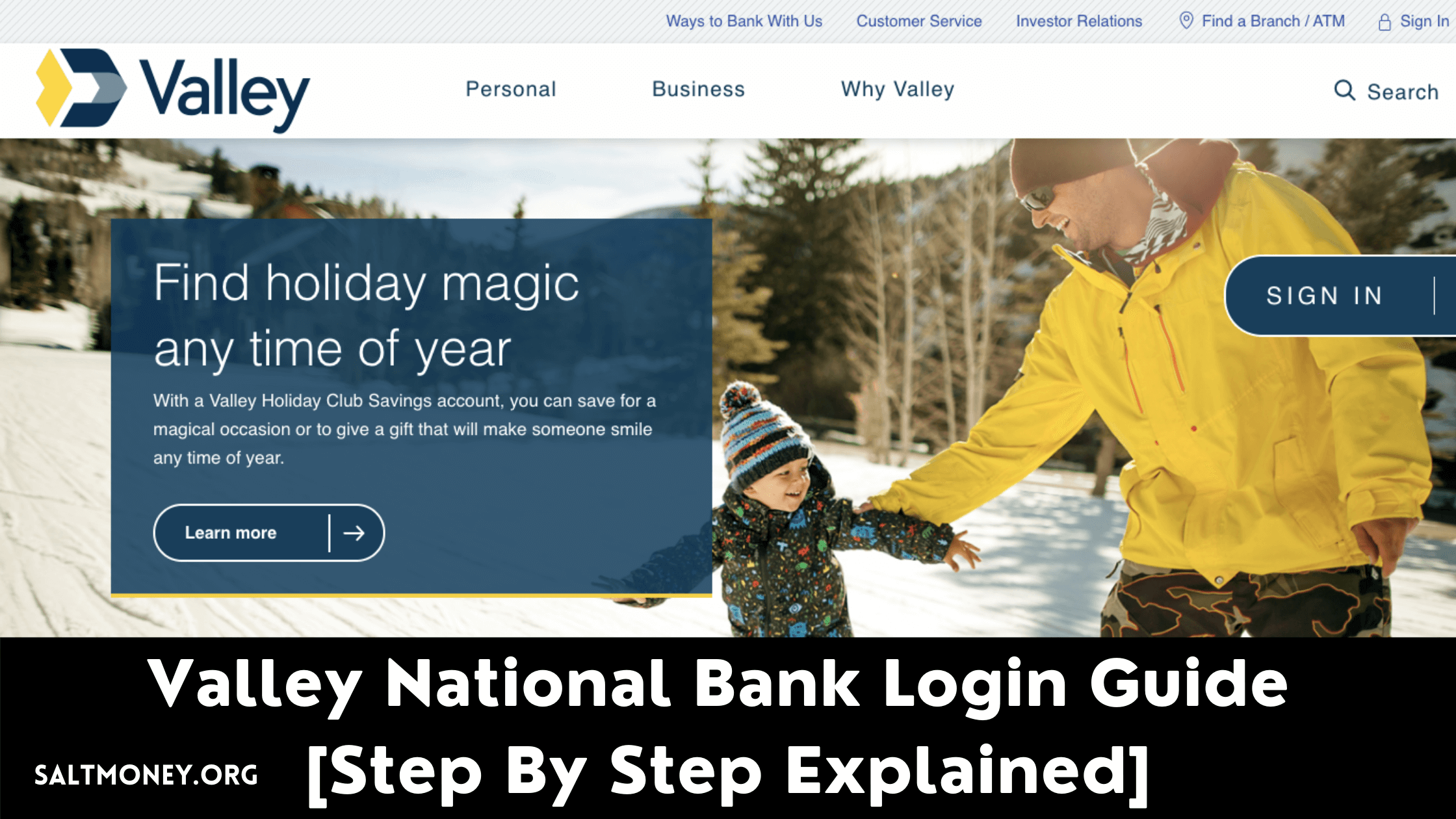 Valley National Bank Login Guide