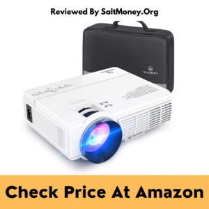 Vankyo Portable Movie Projector With 40,000 hrs Led Lamp Life