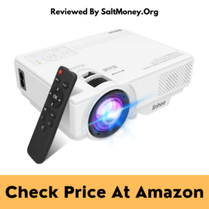 Jinhoo M10 Front/Rear/Ceiling Mini Projector