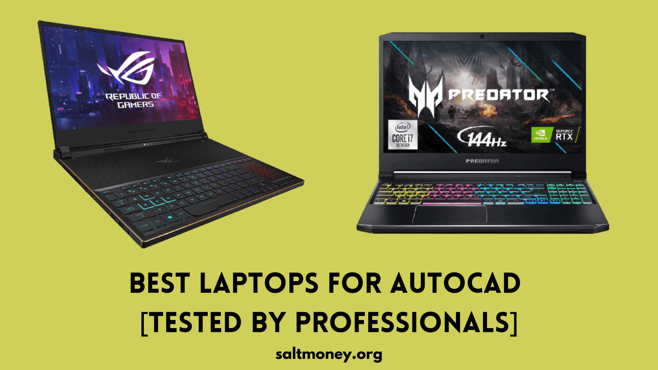 Best Laptops For AutoCAD Review