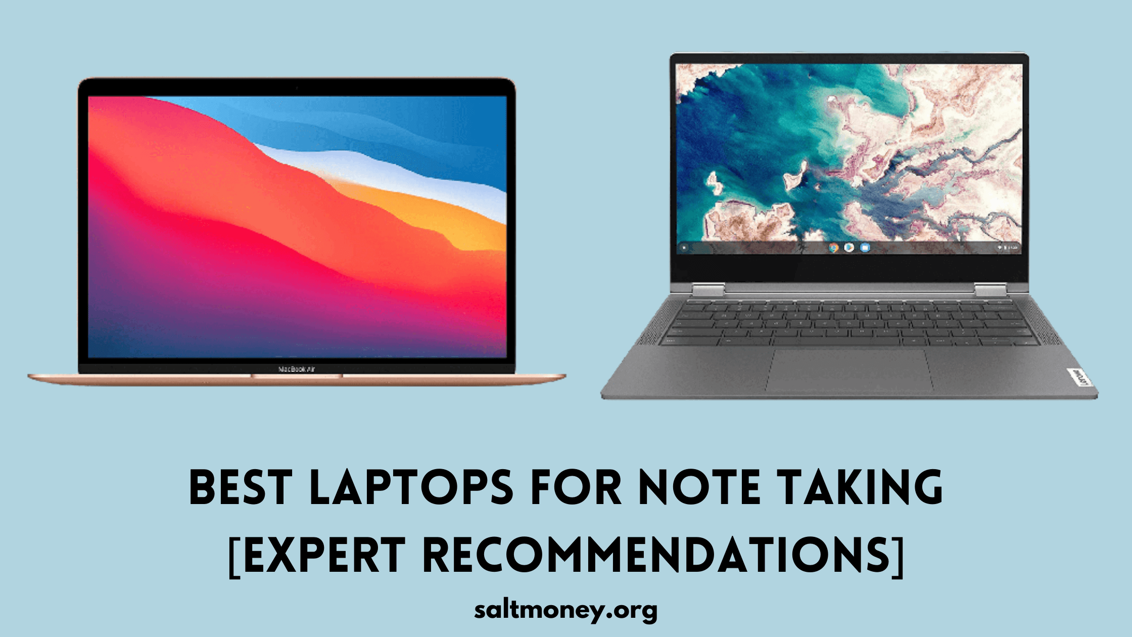 Best Laptops For Note Taking