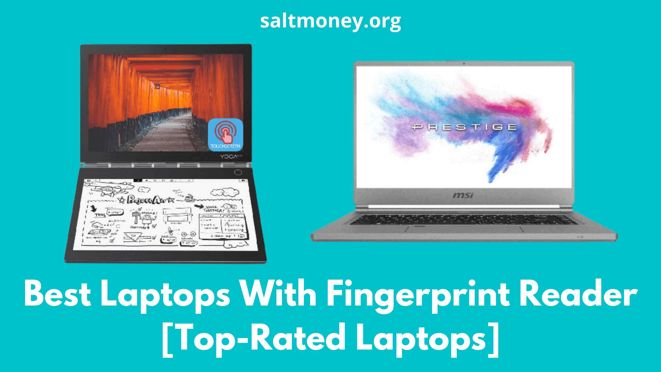 Best Laptops With Fingerprint Reader